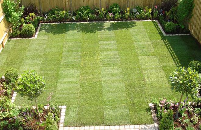 enkel-trädgård